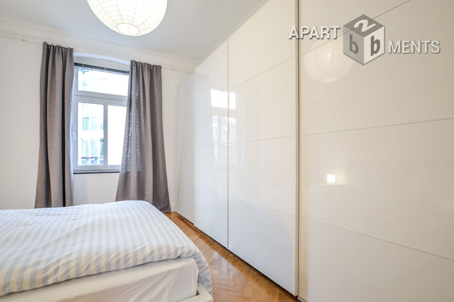Modernly furnished and centrally located apartment in Cologne-Neustadt-Süd