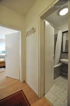 1 Zimmer Wohnung mit Balkon in unmittelbarer Nähe zum Rhein