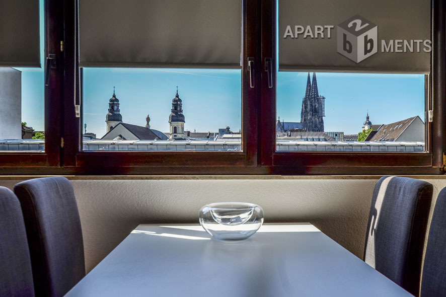 Quiet and centrally located apartment in Cologne-Altstadt-North