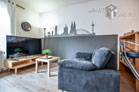 Gemütlich möbliertes Apartment mit schmalem Rheinblick in Köln-Altstadt-Nord