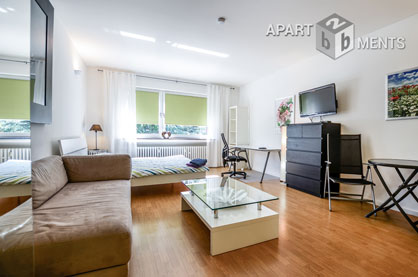 Modernly and high quality furnished apartment in Cologne-Rodenkirchen