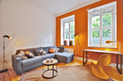 High quality furnished old-style apartment with design-style in Cologne-Deutz