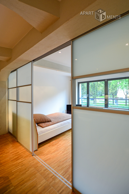 Modern möbliertes Apartment im Rheinauhafen in Köln-Neustadt-Süd