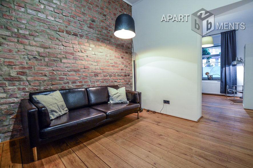 Möblierte und hochwertig sanierte Altbauwohnung in Köln-Nippes