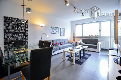 Moderne möblierte und ruhige Wohnung in Köln-Nippes