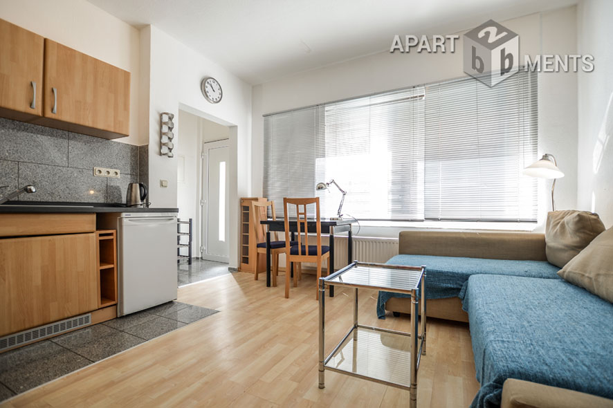 Modernly furnished and bright apartment in Cologne-Ehrenfeld