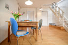 Modernly furnished maisonette apartment with terrace in the Belgian Quarter
