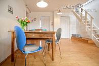 Modern möblierte Maisonettewohnung mit Terrasse im Belgischen Viertel