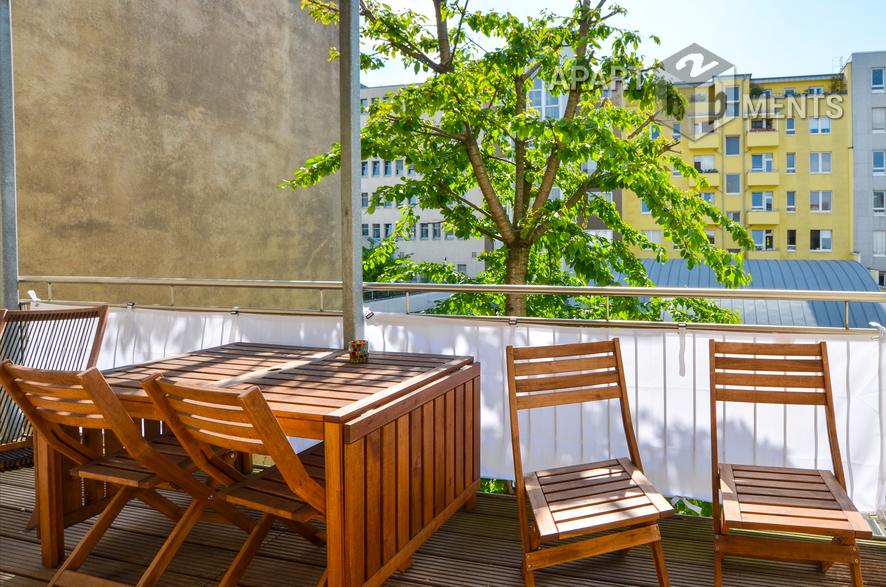 Hochwertig und modern möblierte Wohnung in Köln-Altstadt-Süd