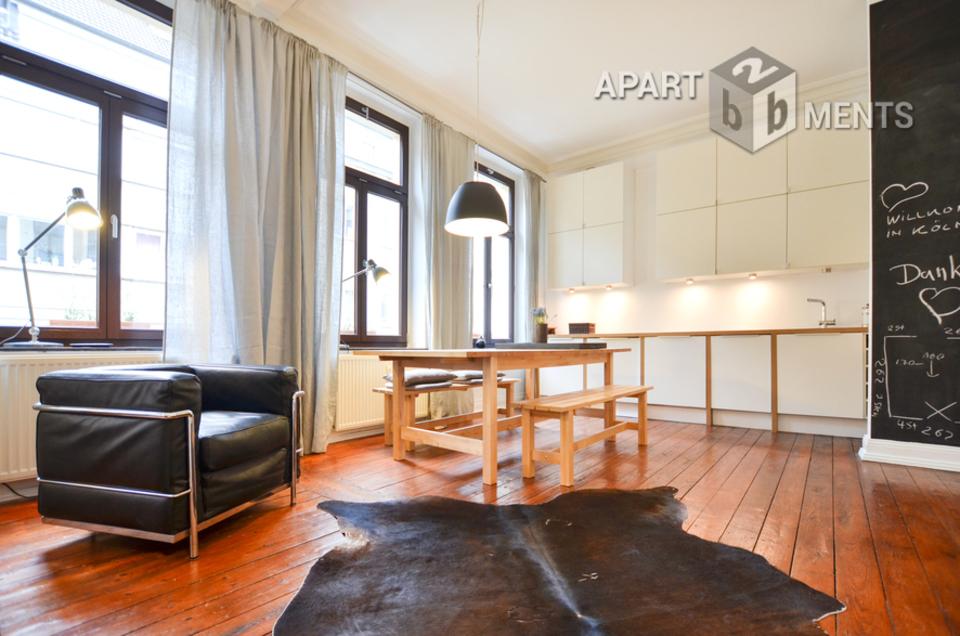Modern möblierte Wohnung am Eigelstein in Köln-Altstadt-Nord