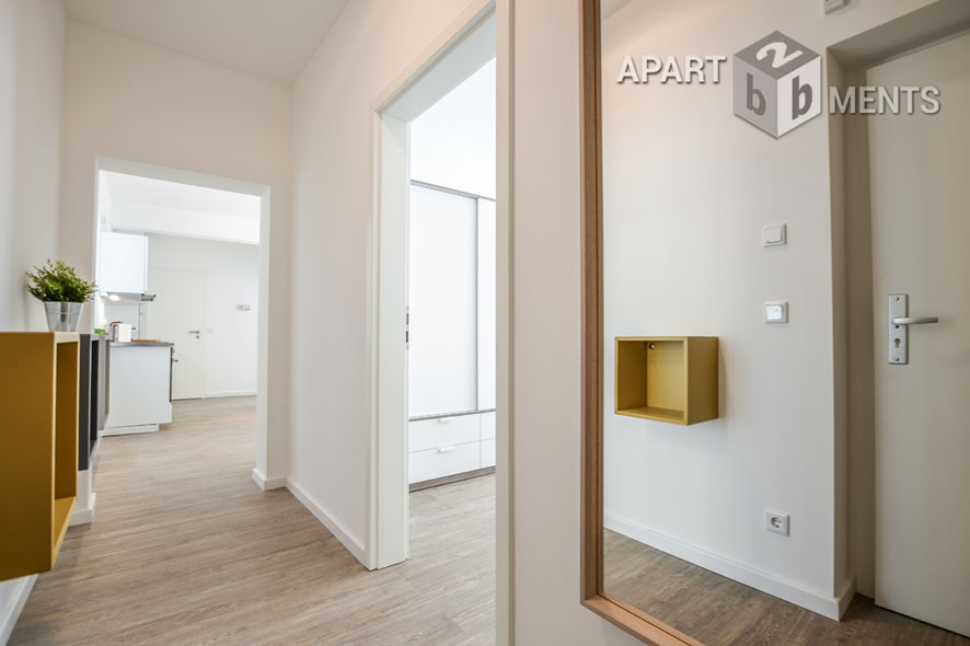Modernly furnished and centrally located apartment in Cologne-Neustadt-Nord