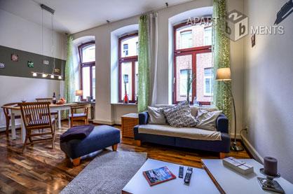 Erstklassiges modern möbliertes Apartment im Herzen von Köln-Deutz