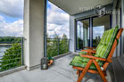 Modern furnished apartment with a view of the Rhine in Cologne-Mülheim
