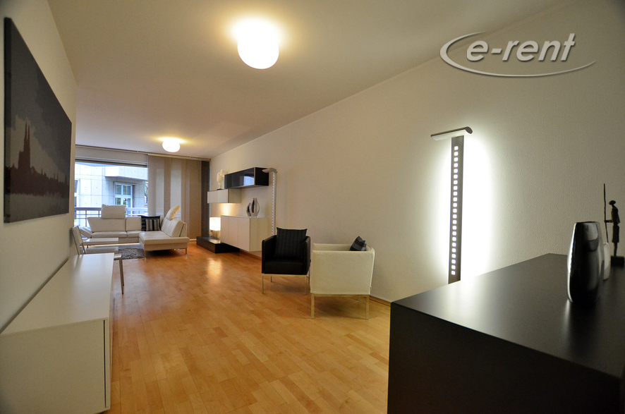 Moderne und hochwertige möblierte Wohnung in Köln-Altstadt-Nord