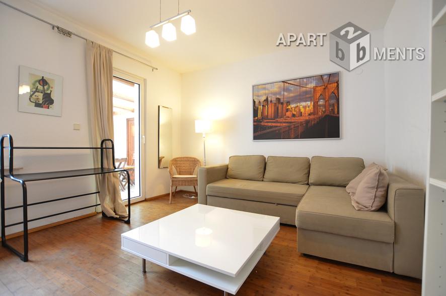Moderne und gut ausgestattete 2 Zimmer-Wohnung mit großer Terrasse in zentraler Wohnlage