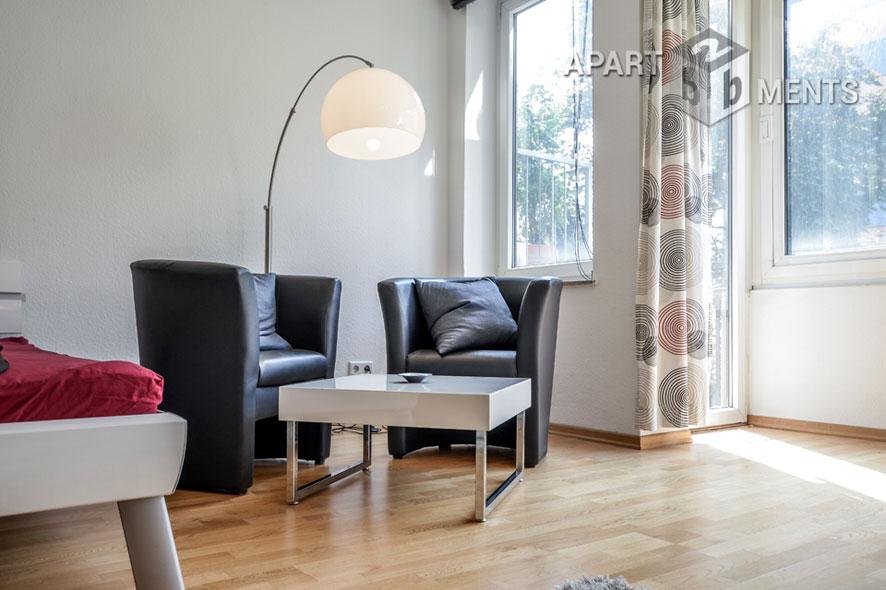 Hochwertig möblierte und zentral gelegene Wohnung im Belgischen Viertel