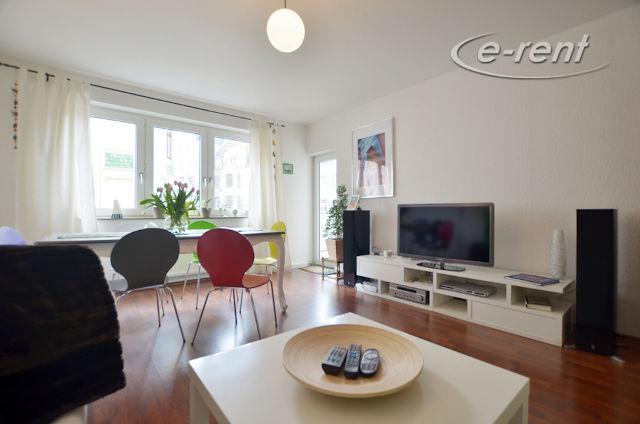 moderne 3 Zimmer-Wohnung mit Balkon und 2 Schlafzimmern in attraktivem Stadtviertel nördlich des Zentrums