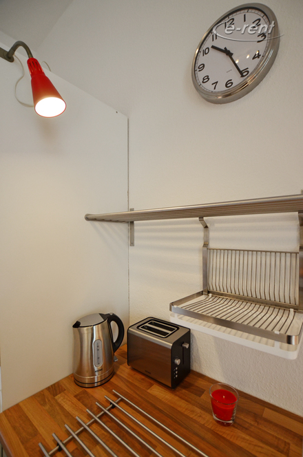 Modern and high-quality 1 room apartment with balcony in Deutz