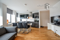 Sehr helle und hochwertig möblierte Wohnung in Köln-Neustadt-Nord