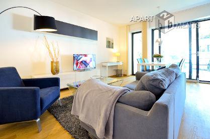 Möblierte Wohnung der Luxuskategorie im exklusiven Pandion Belvedere in Köln-Müngersdorf