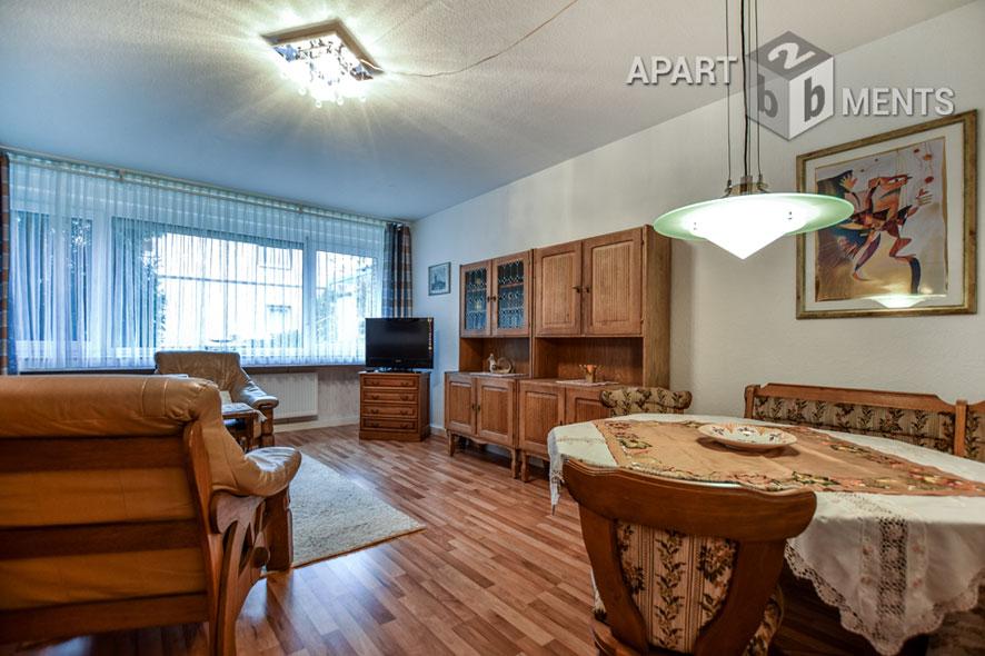 Sehr ordentliche und gepflegte möblierte 2 Zimmer Wohnung in Köln-Widdersdorf