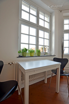 Furnished apartment with rooftop terrace in quite location in Cologne-Nippes