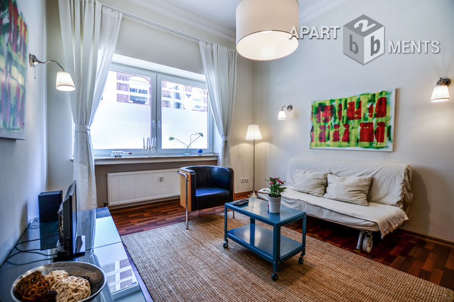 Modern furnished apartment in good residential area in Cologne-Bayenthal