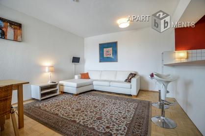 Modern möbliertes Apartment mit toller Aussicht in Köln-Nippes