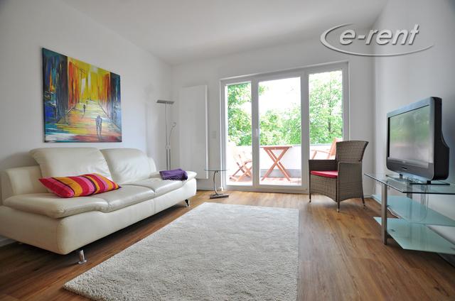 Modern möblierte 2-Zimmer-Wohnung mit Balkon in Köln-Humboldt-Gremberg
