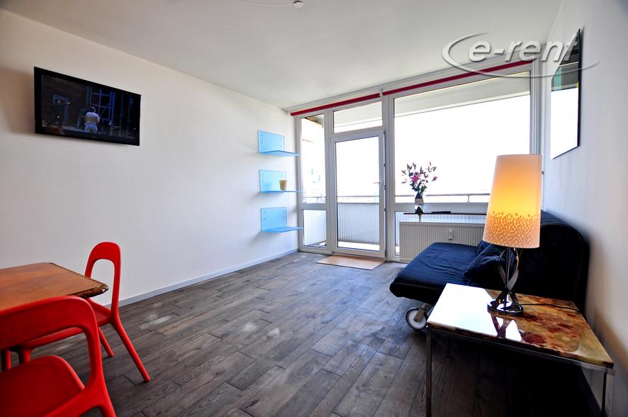 Sehr modern möbliertes Apartment mit Balkon in Köln-Humboldt-Gremberg