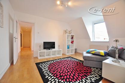 Sehr zentrale, aber ruhige 2 Zimmer Wohnung mitten im Belgischen Viertel