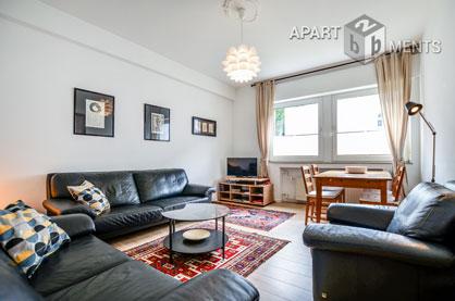 Modern möblierte Wohnung in Köln-Riehl