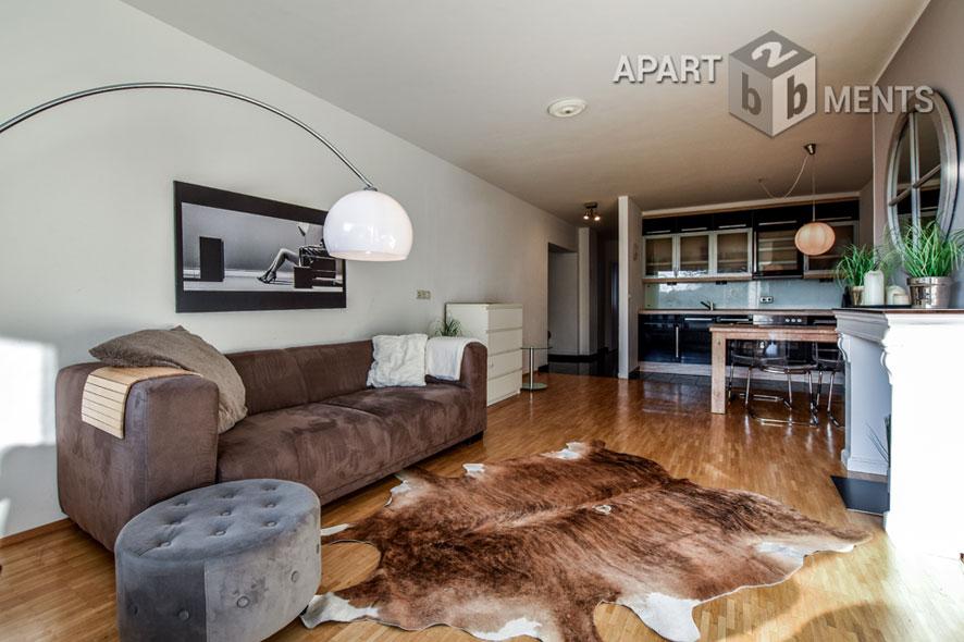 Modern möblierte Wohnung in zentraler Lage in Köln-Lindenthal