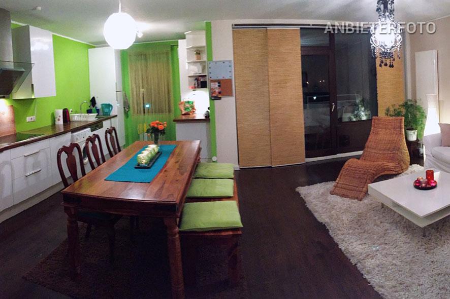 Modern möblierte und ruhig gelegene Wohnung in Köln-Weiden
