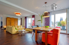 Luxuriously furnished penthouse with loft character in Cologne-Altstadt-Nord