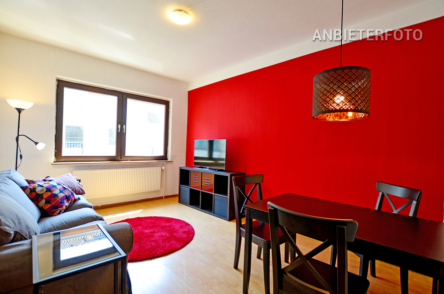 modern 3 room apartment with balcony in attractive, central residential area