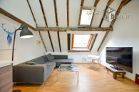 Furnished and centrally located penthouse apartment in Cologne-Altstadt-Nord