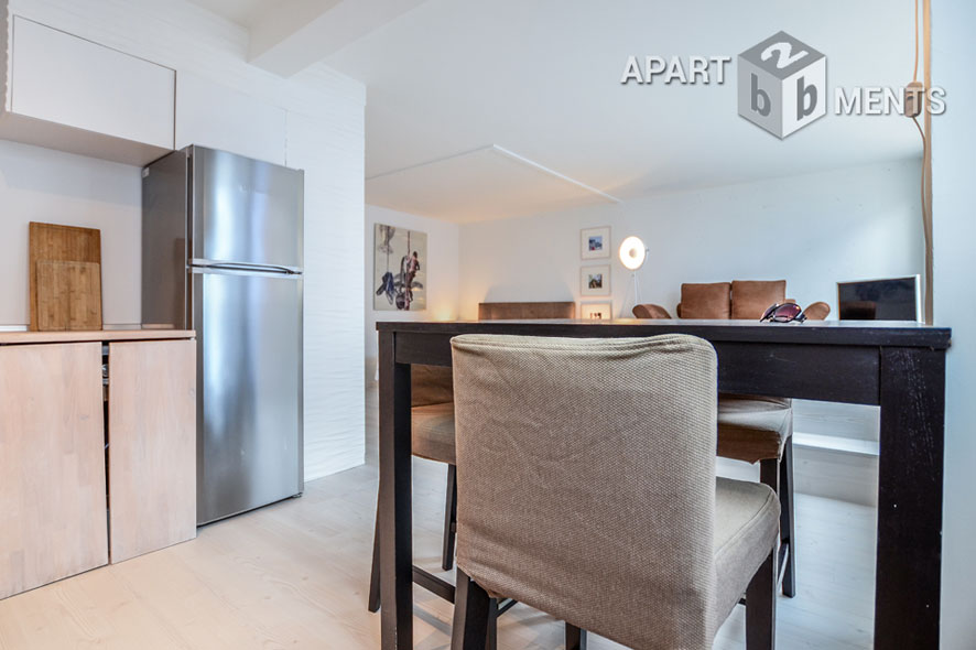 Modern furnished apartment in Cologne-Neustadt-Nord