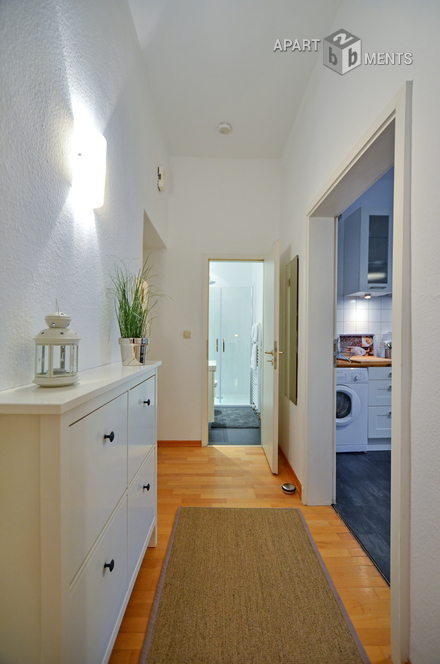 Modern and high quality furnished apartment in Cologne-Neuehrenfeld