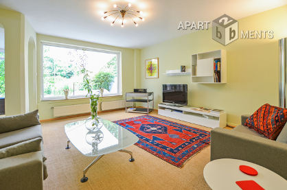 Modernly furnished and quiet terraced house with garden in Cologne-Raderberg