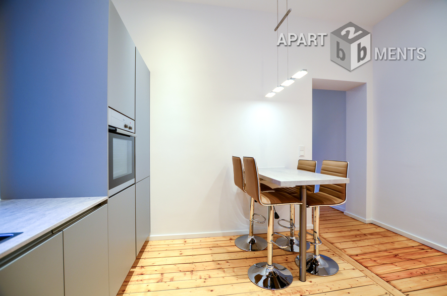 High quality furnished and spacious apartment in Cologne-Neustadt-Süd