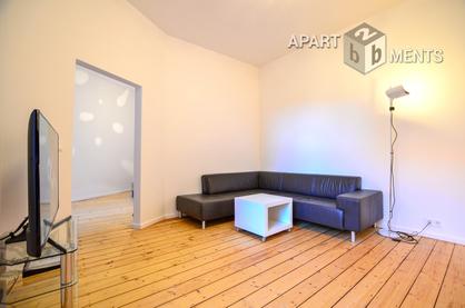Hochwertig möblierte und geräumige Wohnung in Köln-Neustadt-Süd
