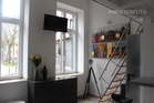 High-quality furnished apartment with gallery in Cologne-Altstadt-North
