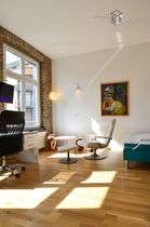 Hochwertig möbliertes Apartment mit Empore in Köln-Altstadt-Nord
