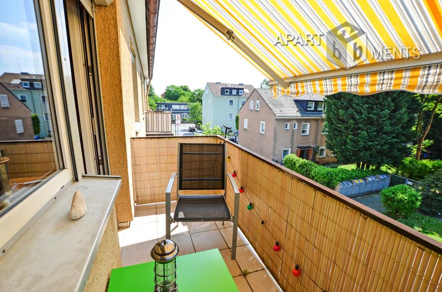 Modern möblierte Wohnung in Köln-Mülheim nahe bei Deutz-Messe