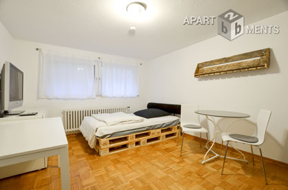 Modernly furnished apartment in Cologne-Junkersdorf
