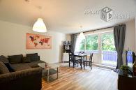 Möblierte 3-Zimmer-Wohnung mit Balkon in Köln-Mülheim