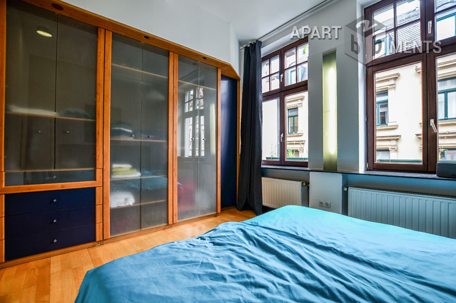 High quality furnished maisonette apartment in the Belgian Quarter
