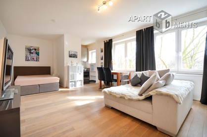 Furnished apartment in quiet and central location in Cologne-Neustadt-Süd
