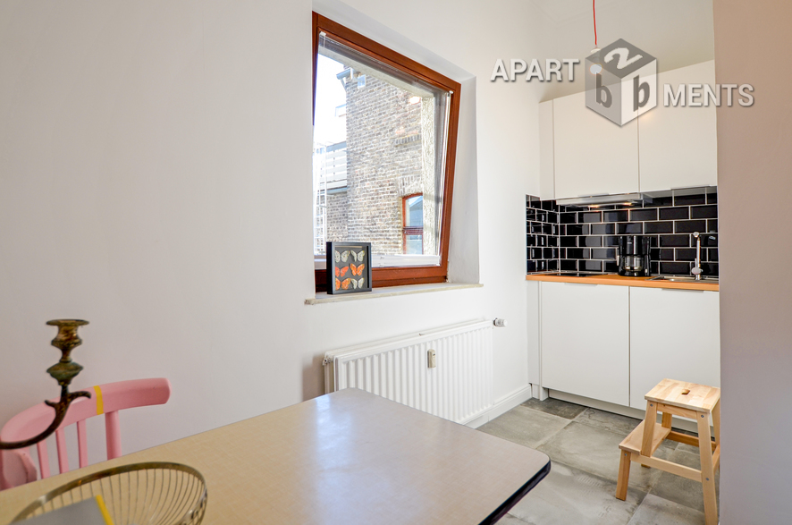 Modern und stilvoll möbliertes Apartement in guter Wohnlage in Köln-Nippes